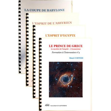 Pack de quatre livrets d'enseignements - Mauri Coetzee